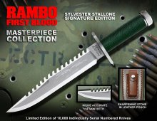 First Blood Replica 1/1 Knife Masterpiece Collection Sylvester S