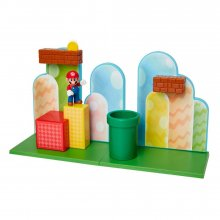 World of Nintendo Super Mario Playset Acorn Plains