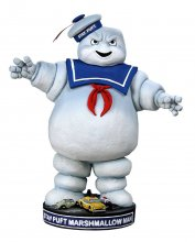 Ghostbusters Head Knocker Bobble-Head Stay Puft 18 cm