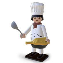Soška Playmobil Nostalgia Collection Cooker 25 cm