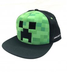Minecraft Snapback čepice Creeper Face