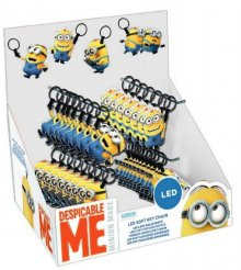 Despicable Me Light-Up Keychain Display (48)