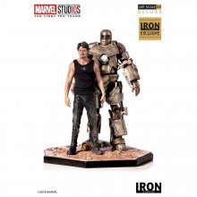 Marvel Comics Socha 1/10 Iron Man Mark I CCXP 2019 Exclusive 21