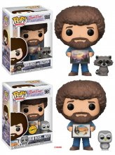 The Joy of Painting POP! Television Vinyl Figures 9 cm Bob Ross