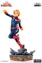 Marvel Comics BDS Art Scale Socha 1/10 Captain Marvel 20 cm