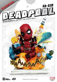 Marvel Egg Attack Statue Deadpool Cut Off! The Fourth Wall! 28 c