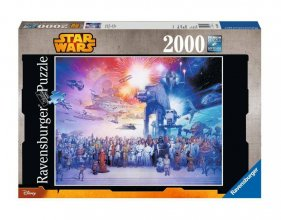 Star Wars skládací puzzle Star Wars Universe (2000 pieces)