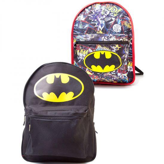Batman originální oboustranný batoh Graph Logo  BP0339BTM  - 1154 Kč ... 193e40fb62