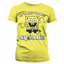 Dámské triko SpongeBob It´s Hip To Be Square