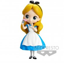 Disney Q Posket mini figurka Alice Thinking Time Normal Color Ve