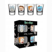 Rick and Morty sada panáků 4-Pack Faces