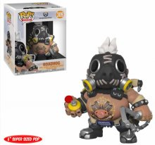 Overwatch Oversized POP! Games Vinylová Figurka Roadhog 15 cm
