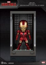 Iron Man 3 Mini Egg Attack Akční figurka Hall of Armor Iron Man