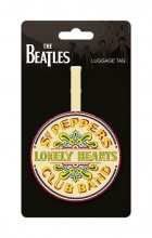 The Beatles Rubber Luggage Tag Sgt. Pepper Logo