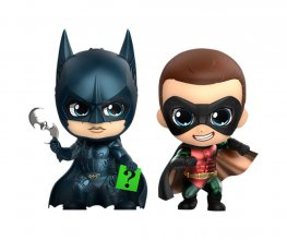 Batman Forever Cosbaby mini figurka 2-Pack Batman & Robin 11 cm