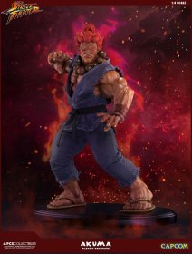 Street Fighter Mixed Media Statue 1/4 Akuma Classic Exclusive 45