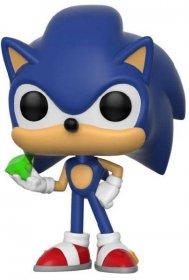 Sonic The Hedgehog POP! Games Vinylová Figurka Sonic (Emerald) 9