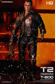 Terminator 2 HD sběratelská figurka T-800 Battle Damaged 1/4