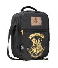 Harry Potter Lunch Bag Bradavice Black & Gold