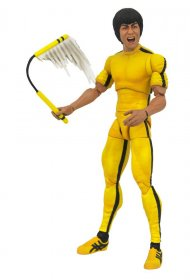 Bruce Lee Select Akční figurka Yellow Jumpsuit 18 cm