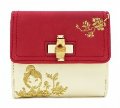 Disney by Loungefly Flap Purse Mulan Bamboo Lock