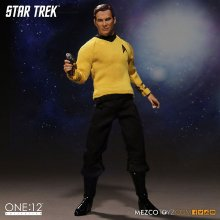 Star Trek figurka James T. Kirk 15 cm Mezco