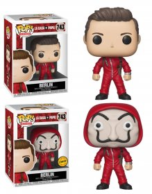Money Heist POP! TV Vinyl Figures Berlin 9 cm prodej v sadě (6)