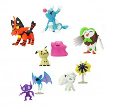 Pokémon Battle mini figurky Packs 5-7 cm Wave 2 prodej v sadě (6