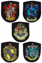 Harry Potter Patches 5-Pack House Crests