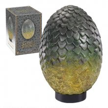 Game of Thrones Dragon Egg autentická replika Rhaegal 20 cm