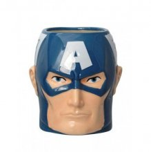 Marvel Comics Super Hero 3D Mug Captain America