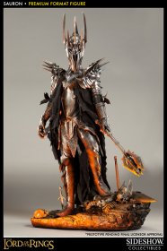 Lord of the Rings socha Premium Format Figure Sauron 91 cm