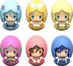 Vocaloid Piyokuru Mini Figures 6 cm Assortment Hatsune Miku 01 &
