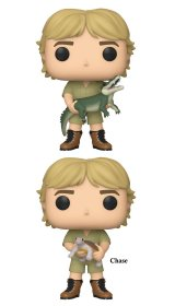 The Crocodile Hunter POP! TV Vinyl Figures Steve Irwin 9 cm Asso
