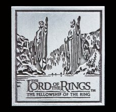 Lord of the Rings sběratelský odznak Fellowship of the Ring