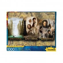 Lord of the Rings skládací puzzle Triptych (1000 pieces)