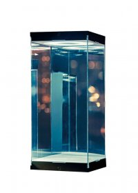 Master Revolving House Acrylic Display Case with Lighting for 1/