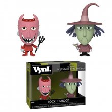 Nightmare Before Christmas VYNL Vinylové Figurky 2-Pack Lock &