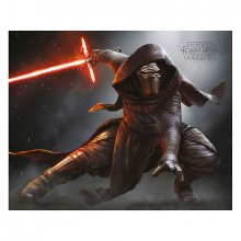 Mini plakát Star Wars Episode VII Kylo Ren Crouch 40 x 50 cm