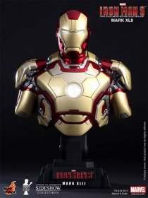 Iron Man 3 sběratelská bysta Iron Man Mark XLII 23 cm