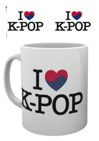K-Pop Hrnek Heart K-Pop