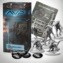 AvP Tabletop Game The Hunt Begins Expansion Pack Alien Warriors