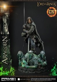 Lord of the Rings Socha 1/4 Aragorn Deluxe Version 76 cm
