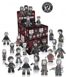 The Walking Dead Mystery mini figurky 6 cm In Memoriam Display (