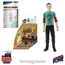 The Big Bang Theory Akční Figurky with Diorama Set Sheldon Ridd