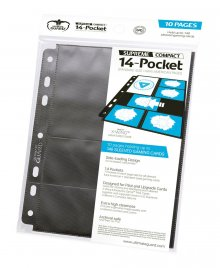 Ultimate Guard 14-Pocket Compact Pages Standard Size & Mini Amer
