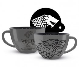 Game of Thrones Cappuccino Hrnek Stark
