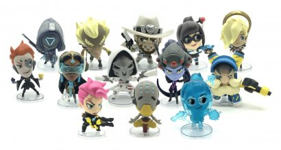 Overwatch Cute but Deadly Vinyl mini figurky 7 cm Series 5 Displ