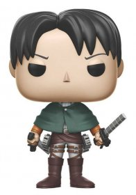 Attack on Titan POP! Vinylová Figurka Levi Ackerman 10 cm
