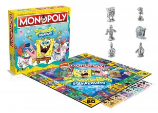 SpongeBob SquarePants desková hra Monopoly *English Version*